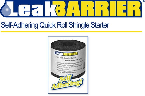 Quick Roll Shingle Starter